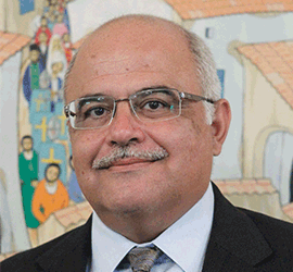 Supreme Court Judge Tefkros Economou. Τεύκρος Οικονόμου.